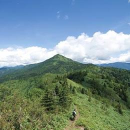 岩菅山登山コース
