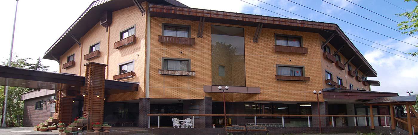 政府登録国際観光旅館 志賀一井ホテル外観